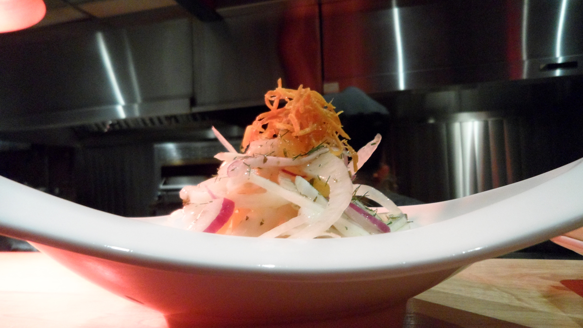 Insalata d' Inverno (crisp shaved fennel & oranges)