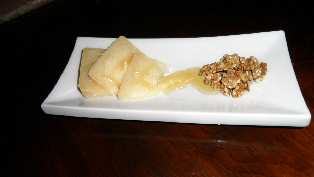 Imported Italian Cheese, farmed honey & walnuts