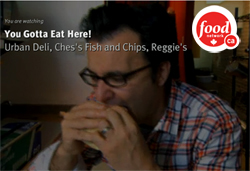 Food Network Canada's You Gotta Eat Here! featuring Urban Deli