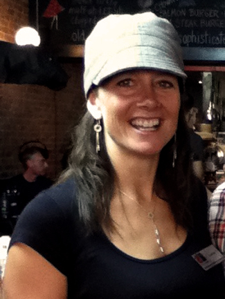 Liane Daigle, part of Urban Deli's staff from the beginning.