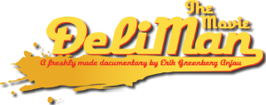 Logo for the movie Deli Man.